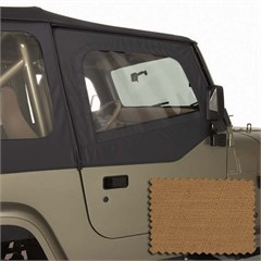 Upper Door Skins for Wrangler YJ 1988-1995 in Spice by Rugged Ridge