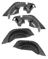4 Piece Inner Fender Liner Kit for Jeep Wrangler JK (2007-2014)
