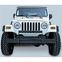 Jeep Wrangler Brush Guard, Gloss Black (1997-2006)