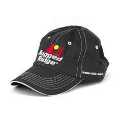 Rugged Ridge Hat in Black & White by Rugged Ridge omix-ada Stitching