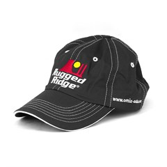 Rugged Ridge Hat Black & White by Rugged Ridge ruggedridge Stitching
