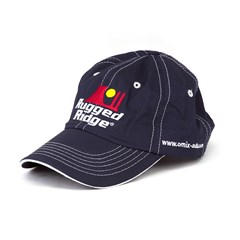 Rugged Ridge Hat in Blue & White by Rugged Ridge omix-ada Stitching