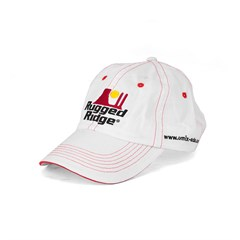 Rugged Ridge Hat in Red & White by Rugged Ridge ruggedridge Stitching