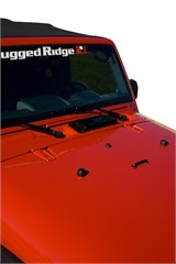 Hood Vent Scoop for Jeep Wrangler TJ (1998-2006), LJ (2004-2006), and JK (2007-2014)