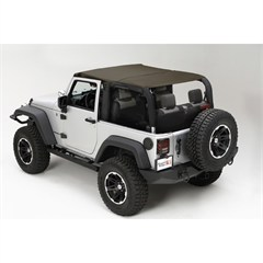 Island Topper Soft Top for 2 Door Jeep Wrangler JK (2007-2009)