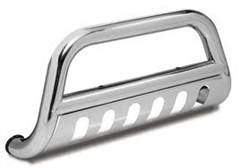 Bull Bar Wrangler JK 2010-2016 3 Inch Silver Rugged Ridge