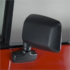 Left Hand Mirror for Jeep Wrangler YJ (1987-1995) with Full Steel Doors