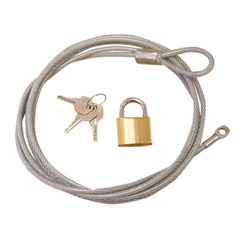 Car Cover Lock and Cable