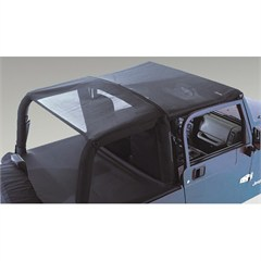 Mesh Header Roll Bar Top for Jeep TJ Wrangler (1997-2006)