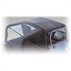 Mesh Roll Bar Top for 2 Door Jeep Wrangler JK (2007-2009)