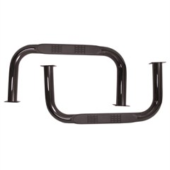 Black Powdercoated Nerf Bars Ridge for Jeep CJ5 (1955-1975)