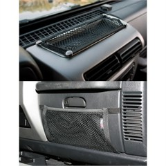 Glove Box and Trail Dash Net Kit for Jeep Wrangler TJ (1997-2006) and LJ (2004-2006)