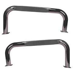 "3"" Inch Round Stainless Steel Tube Steps for Jeep CJ7 (1976-1983)"