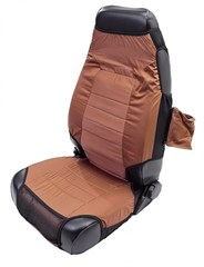 Neoprene Seat Vests for Jeep CJ and Wrangler (1976-2006)