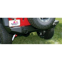 XHD Bumper Wrangler JK 2007-2017 Rear Textured Black Rugged Ridge
