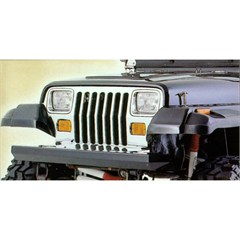 Rock Crawler Front Bumper for Jeep Wrangler YJ (1987-1995), TJ (1997-2006), and LJ (2004-2006)
