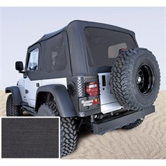 Jeep Wrangelr XHD Soft Top, Tinted Wndws, Black Denim (1997-2006)