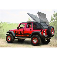 Jeep Powertop Soft Top for Wrangler JK 4 Door, Black (2007-2014)
