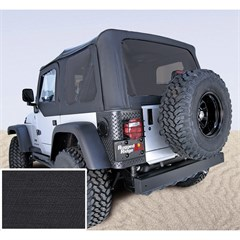 Jeep Wrangler Soft Top No Drs Tinted Wndws Blck Dmnd (2003-2006)