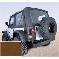 Jeep Wrangler XHD Soft Top, Clear Wndws, Tan (1997-2006)