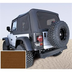 Jeep Wrangler XHD Soft Top, Tinted Wndws, Tan (1997-2006)