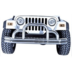 Stainless Steel Tubular Front Bumper for Jeep CJ,YJ,TJ, & LJ