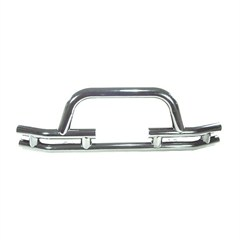 Stainless Steel Front Tube Bumper With Winch Cut Out for Jeep CJ (76-06) Wrangler