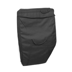 Rear Door Storage Bag Kit in Black  for 4 Door Jeep Wrangler JK (2007-2014)