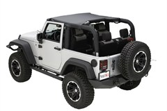 Summer Brief Top by Rugged Ridge for 2 Door Jeep Wrangler JK (2010-2014)