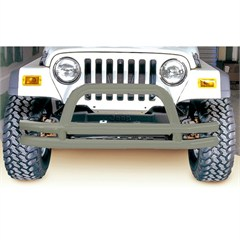 Titanium Front Tube Bumper for Jeep CJ (1976-1986), YJ (1987-1995), TJ (1997-2006), and LJ (2004-2006)