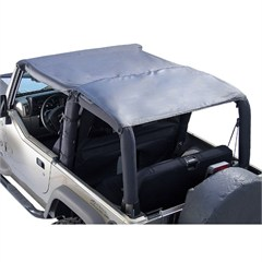 Black Diamond Island Pocket Topper for Jeep Wrangler TJ (1997-2006)