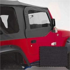 Front Pair Upper Soft Door Kit for Jeep Wrangler TJ and LJ (1997-2006)
