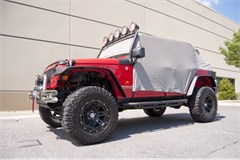 Water Resistant Gray Cab Cover-2 Door Jeep Wrangler JK 2007-2014