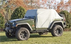Weather Lite Cab Cover, Jeep JK (2007-2015), Gray