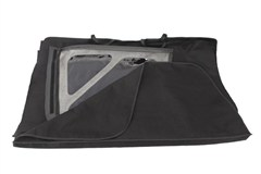 Window Storage Bag Wrangler JK 2007-2016 Black Rugged Ridge