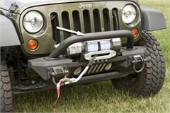 XHD Aluminum Front Bumper Overrider for Jeep Wrangler JK (2007-2015)