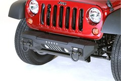 XHD Aluminum Front Bumper with Winch Plate for Jeep Wrangler JK (2007-2014)