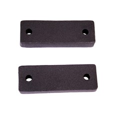 XHD Winch Mount Spacers for Jeep Wrangler JK 2007-2016 by Rugged Ridge