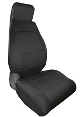 Black Front ABS Seat Covers for Jeep Wrangler JK (2011-2015)