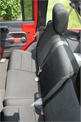 SEAT COVER REAR 4 DOOR JEEP WRANGLER JK (2007-2014) BLACK