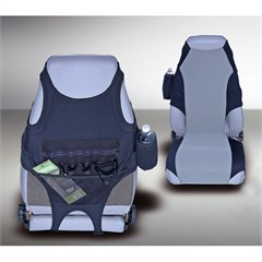 Seat Protector All Jeeps 1976-2006, Black/Gray Neoprene