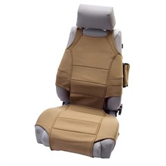 Neoprene Seat Vest Wrangler JK 2007-2017 Tan Rugged Ridge