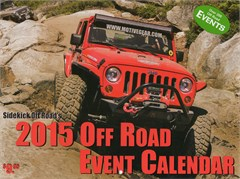 Sidekick Off-Road 2015 Off-Road EVENT Calendar