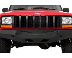 XRC Front Bumper, Jeep Cherokee XJ (1984-2001), Black