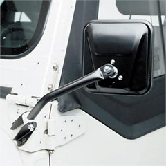 Side Mirrors, Black for Jeep CJ models (1955-1986)