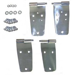 Door Hinges for Full Steel Doors for Jeep YJ (1987-1993)
