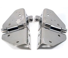 Windshield Hinges, Stainless for Jeep CJ/YJ (1976-1995)
