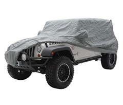 Full Cover with bag, lock and cable for CJ and Wrangler YJ and TJ 1976-2006