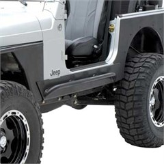 XRC Rock Sliders, with Step, Jeep CJ7 (1976-1986)