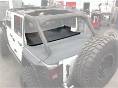 Tonneau Cover Extension, Jeep Wrangler JK 4 Door - Black Diamond